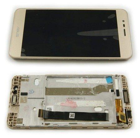 LCD+DOTYK DIGITIZER DO ASUS ZENFONE 3 MAX ZC520TL ZŁOTY