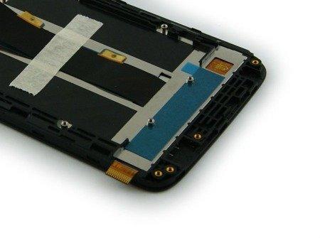 Wyświetlacz LCD+digitizer do ZTE Blade A310 szary
